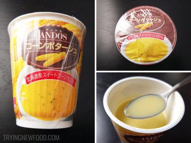Ando's Cup Corn Potage