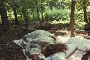 sleep-in-the-woods