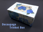 How to Make a Trinket Box with Little Birdie