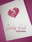 Make a Swirly Heart Valentine Card with Cricut