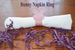 Bunny Napkin Ring