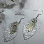 Making Silver and Gold Earrings