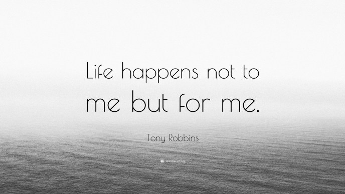 Life Happens For Me
