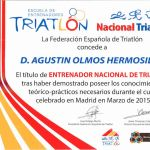Entrenador nacional de Triatlón