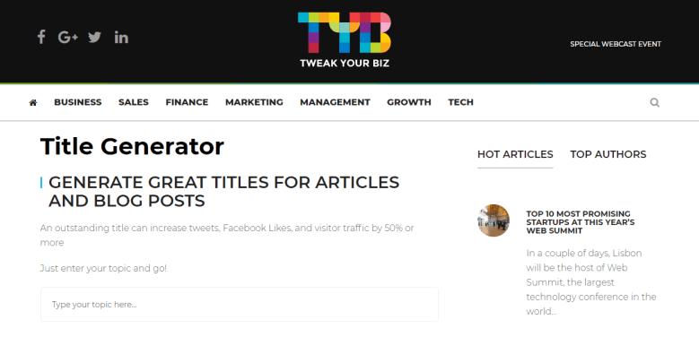 tweak your biz title generator