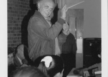 Lorin Maazel guest conducts YPO on April 16, 1994
