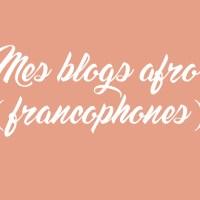 Mes blogs mode afro (francophones) préférés