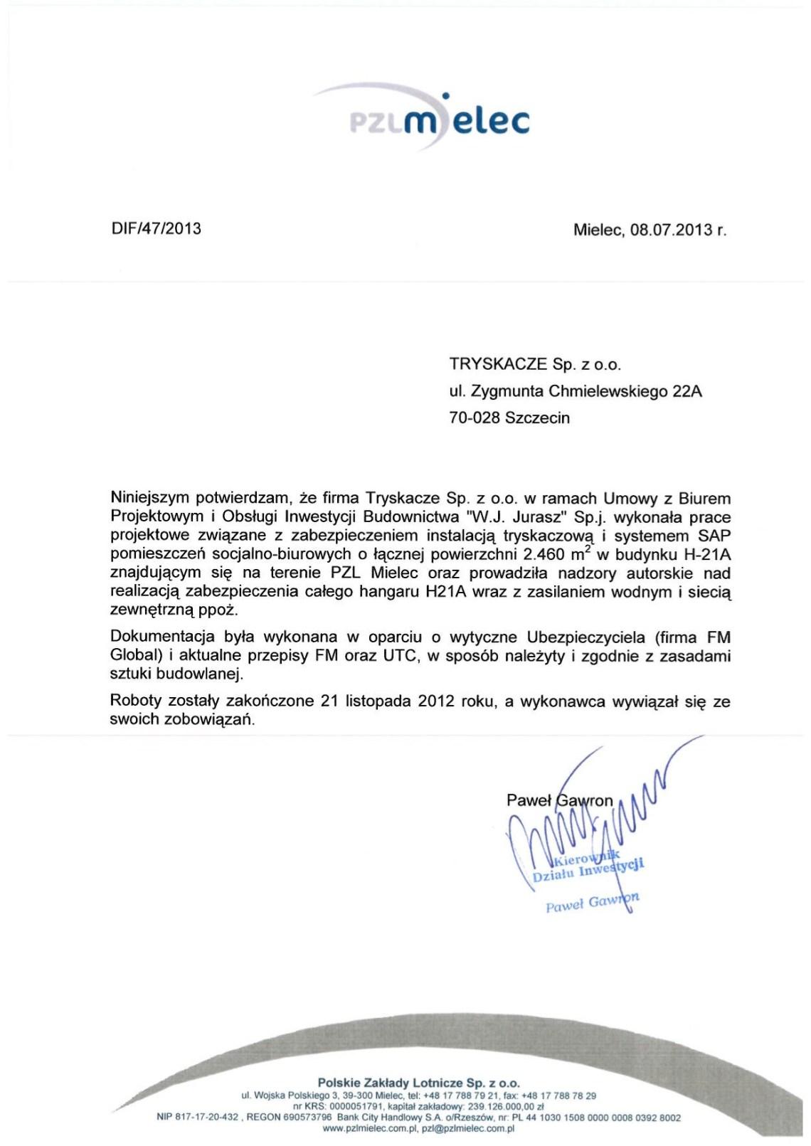 tryskacze_referencje_pzl_mielec