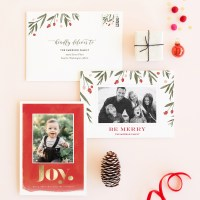 Fa-la-la-la-lalling in love with Minted holiday cards + A giveaway!