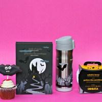 Halloween is nigh! Treats from DAVIDsTEA + tricks for bat cookies