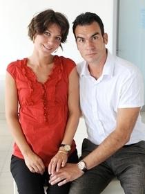 ?RIJEKA, 23.08.2010. Sierra Christianson i Ivan Verunica UZ TEKST MARTINE FRKE   , FOTO IVICA TOMIC