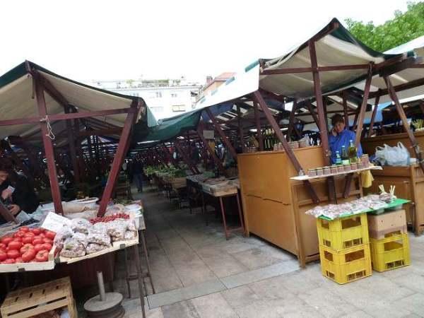ザダル:クロアチアの朝市