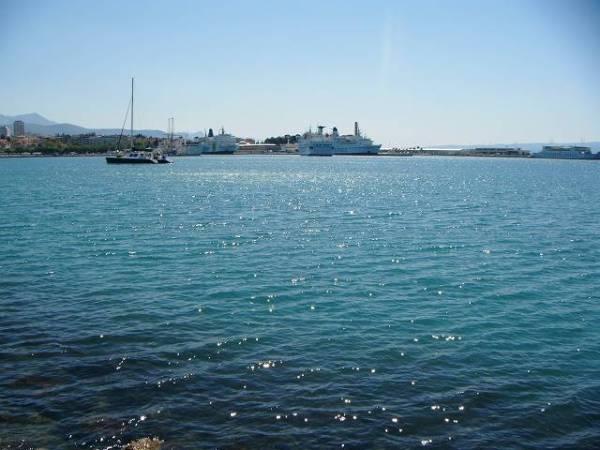 スプリットの海、やっぱりキレイです♪