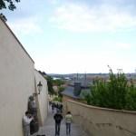 プラハ城からの階段