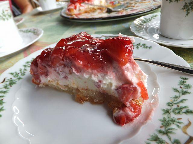 ドイツの手作りケーキ