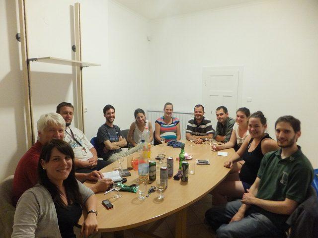 ハンガリーの友達の友達たち