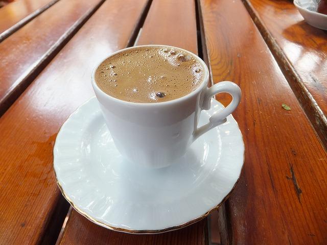 トルココーヒー:目が覚めます!
