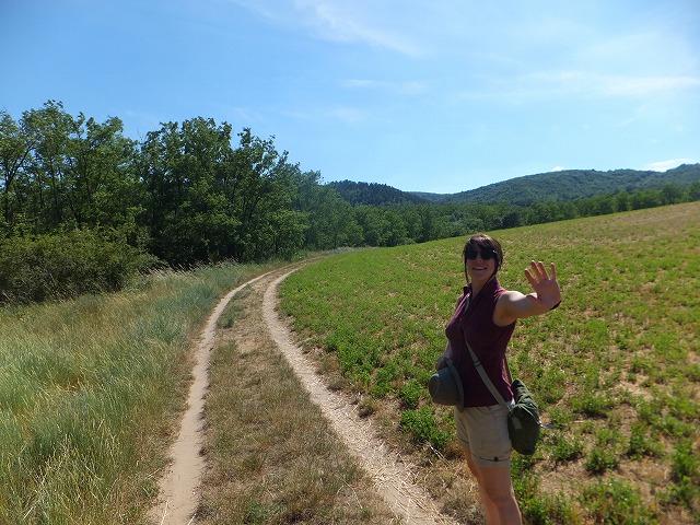 センティヴァン村の裏山をハイキング!