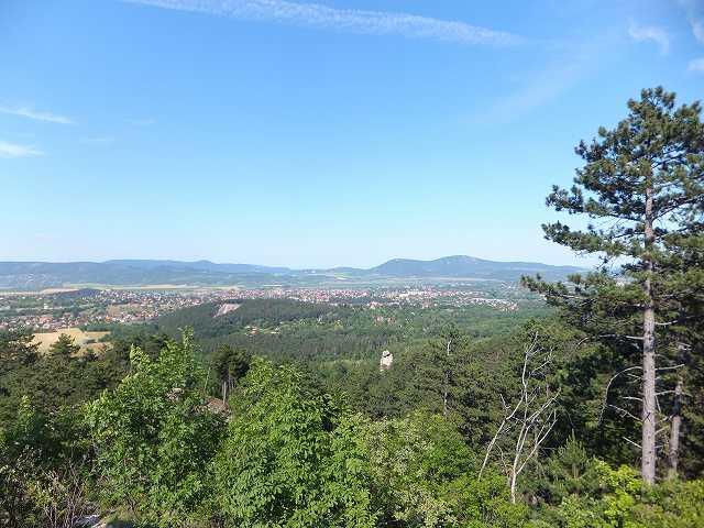 ビューポイントから観るSzentivan村