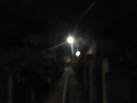 夜のセンティヴァンszentivanを散歩