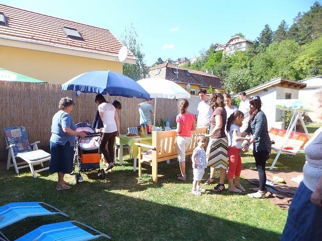 ハンガリーの名前の日パーティー