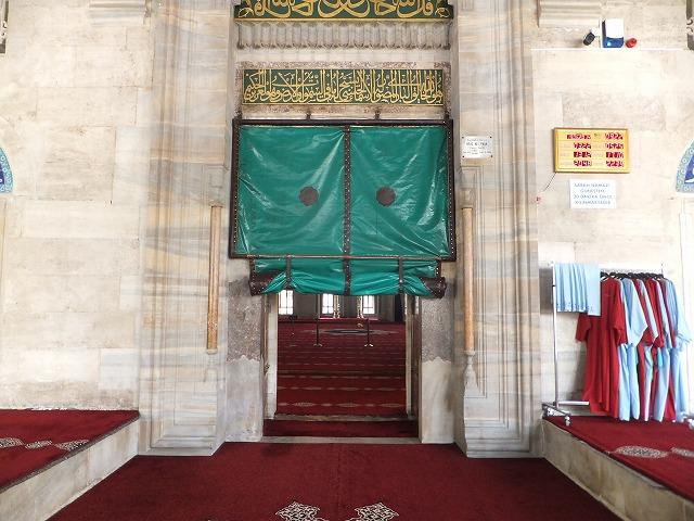 モスクの入口
