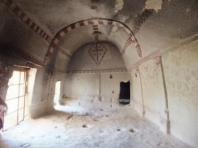 カッパドキア、岩の教会の内部