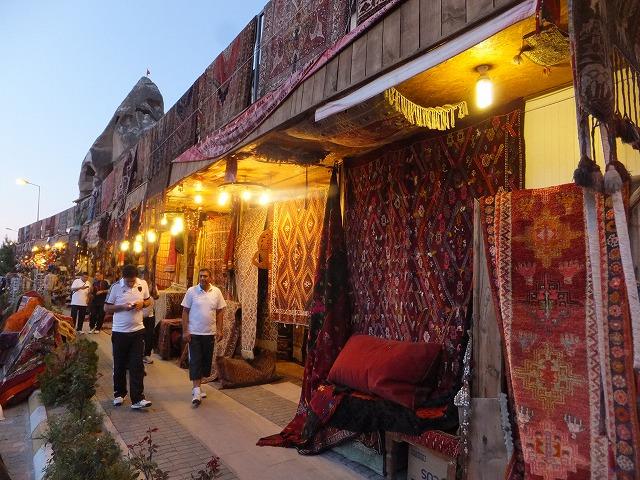 トルコの絨毯屋さん