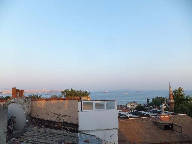 イスタンブールの夕暮れ