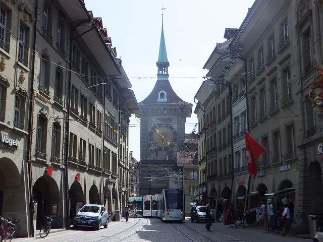 世界遺産:ベルン旧市街の時計塔