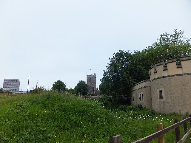 ブリストル、セントポール教会跡