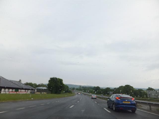 イギリスの高速道路:無料です