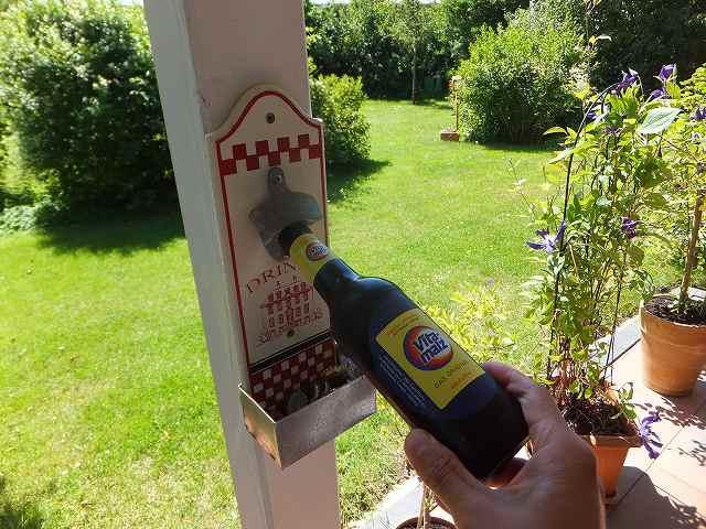 ビール瓶の栓抜き!:さすがドイツ