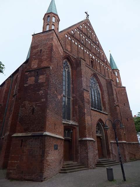 ブレーメン旧市街にあった教会(聖ヨハン教会):ドイツ