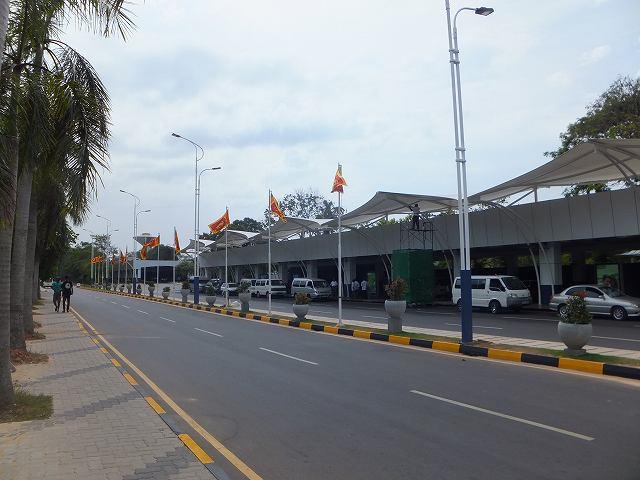 コロンボ空港の外観