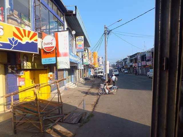 ネゴンボの町の景色