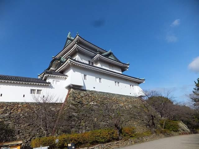 和歌山城!近くに来ると意外と小さい?