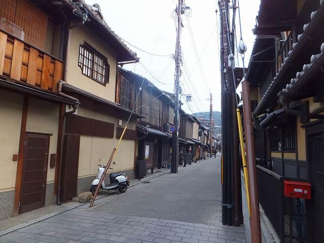 京都祇園の町並み