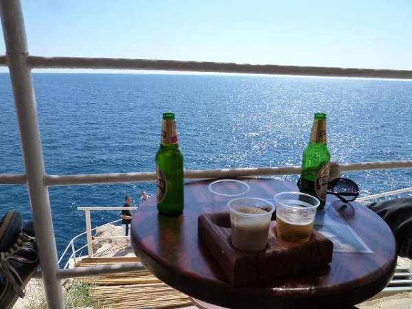アドリア海とビールと… ドブロブニク観光