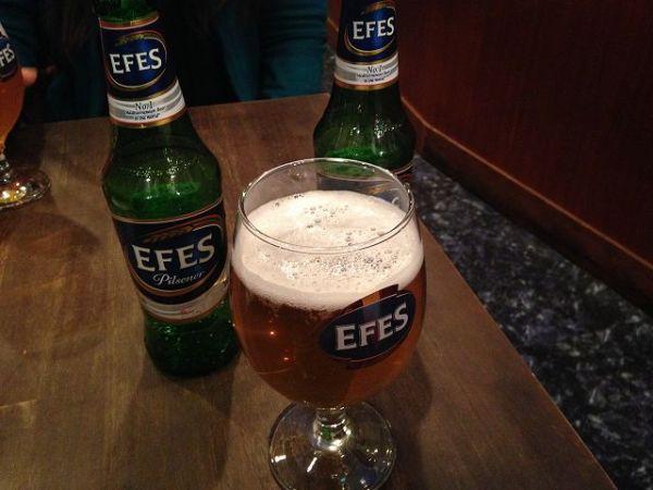 トルコビール:エフェスビール