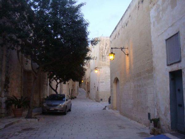 静寂の都:イムディーナの街並み:マルタ旅行