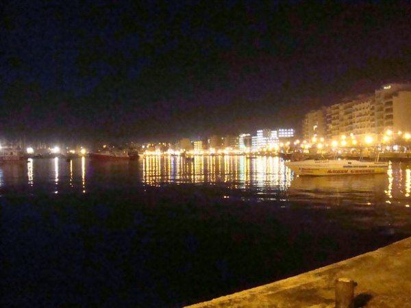 スリーマの町、最後の夜景