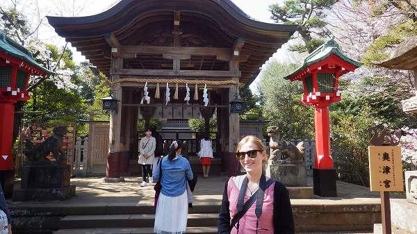 江の島には沢山の神社がありました