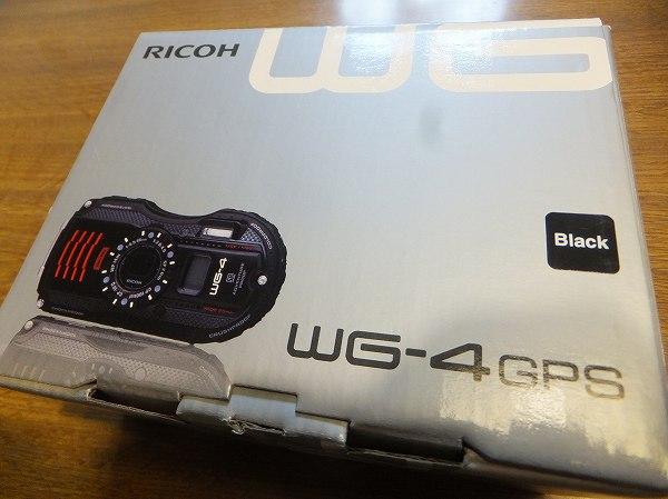 ネット通販で買ったリコーWG−4