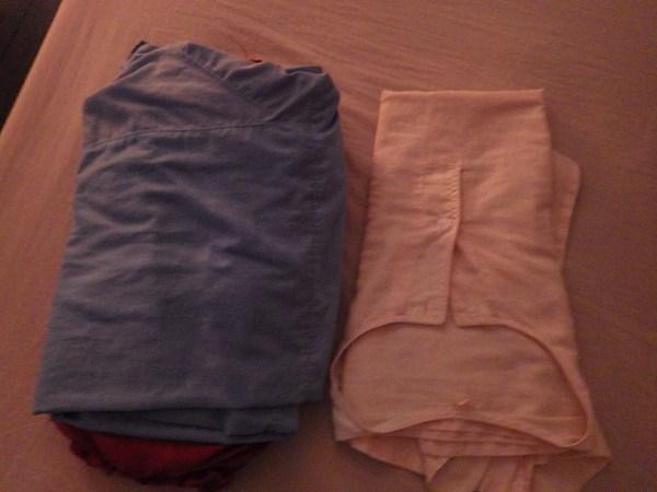 マッサージ用のシャツとズボン