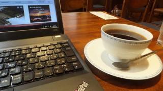 オシャレなカフェでノマド作業♪