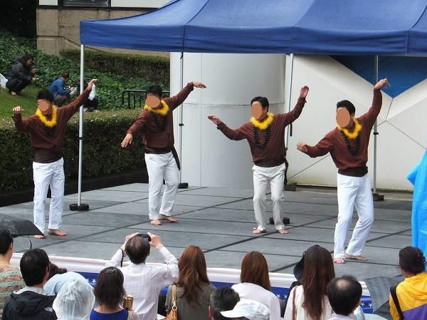 男性版フラダンス:アメリカフレンドシップデー