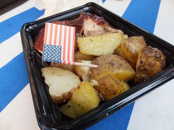 アメリカ大使館主催:フレンドシップデー:ローストチキン&ポテト