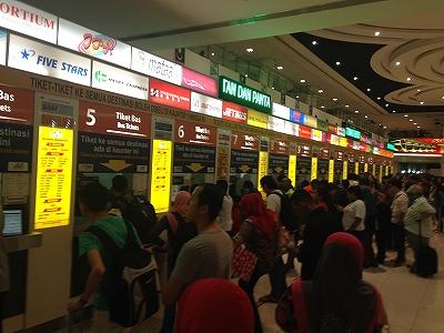長距離バスターミナル:クアラルンプール
