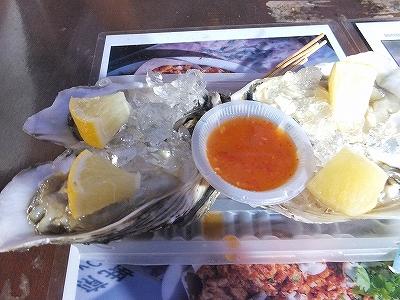 生牡蠣:マラッカ:ジョンカーストリートのナイトマーケット
